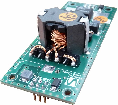 Sdc10 Isolated Low Noise Dc Dc Converter Module